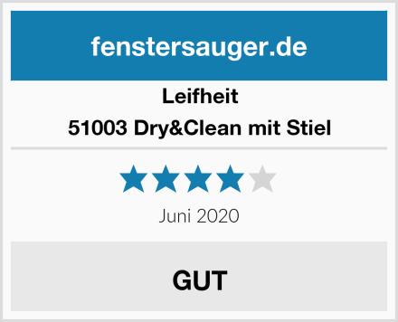 Leifheit 51003 Dry&Clean mit Stiel Test