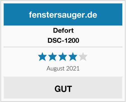 Defort DSC-1200 Test