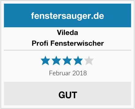 Vileda Profi Fensterwischer Test