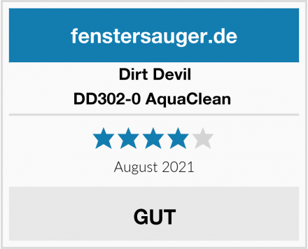 Dirt Devil DD302-0 AquaClean  Test