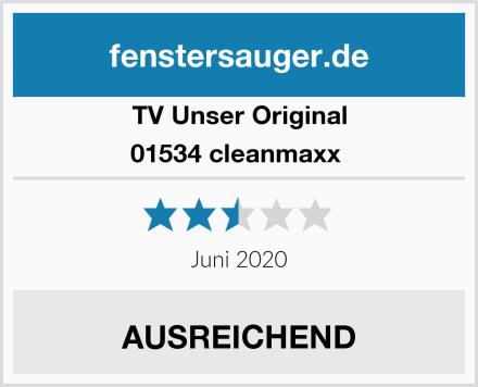TV Unser Original 01534 cleanmaxx  Test