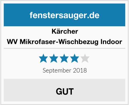 Kärcher WV Mikrofaser-Wischbezug Indoor Test