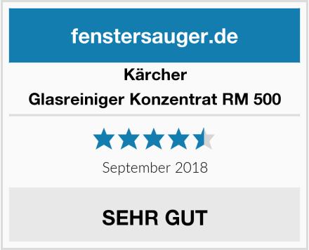 Kärcher Glasreiniger Konzentrat RM 500 Test