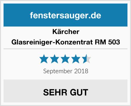 Kärcher Glasreiniger-Konzentrat RM 503 Test