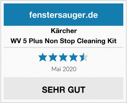 Kärcher WV 5 Plus Non Stop Cleaning Kit Test