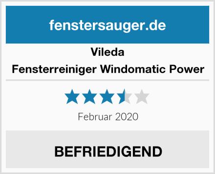 Vileda Fensterreiniger Windomatic Power Test