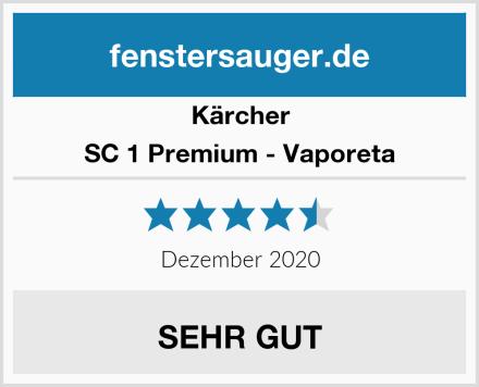 Kärcher SC 1 Premium - Vaporeta Test